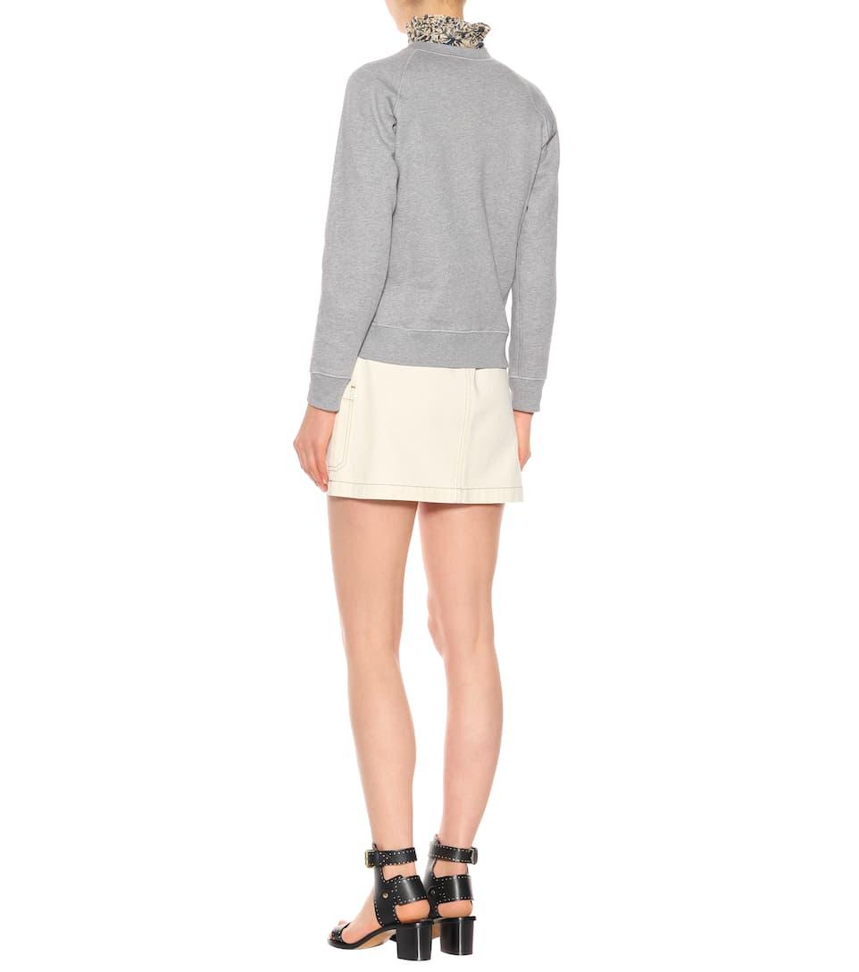 AlexaChung Verzierter Pullover aus Baumwolle Billig 2018 Laden Verkauf Echt Verkauf Online Rabatt Neueste Spielraum Footaction C7AEe94