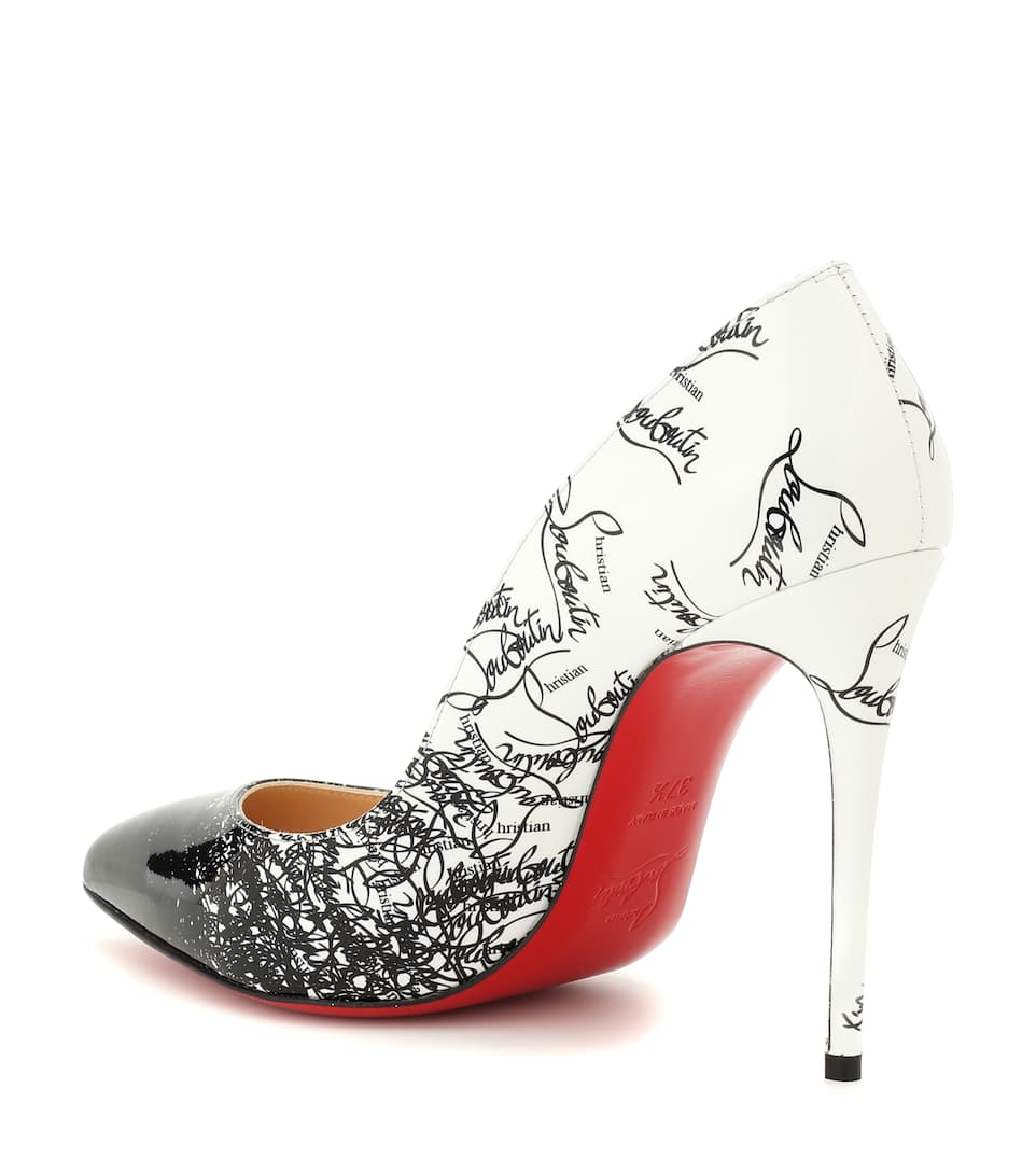 Cuir Escarpins Christian Follies 100 Exclusivité Mytheresa – Louboutin En Pigalle 13TFKlJc