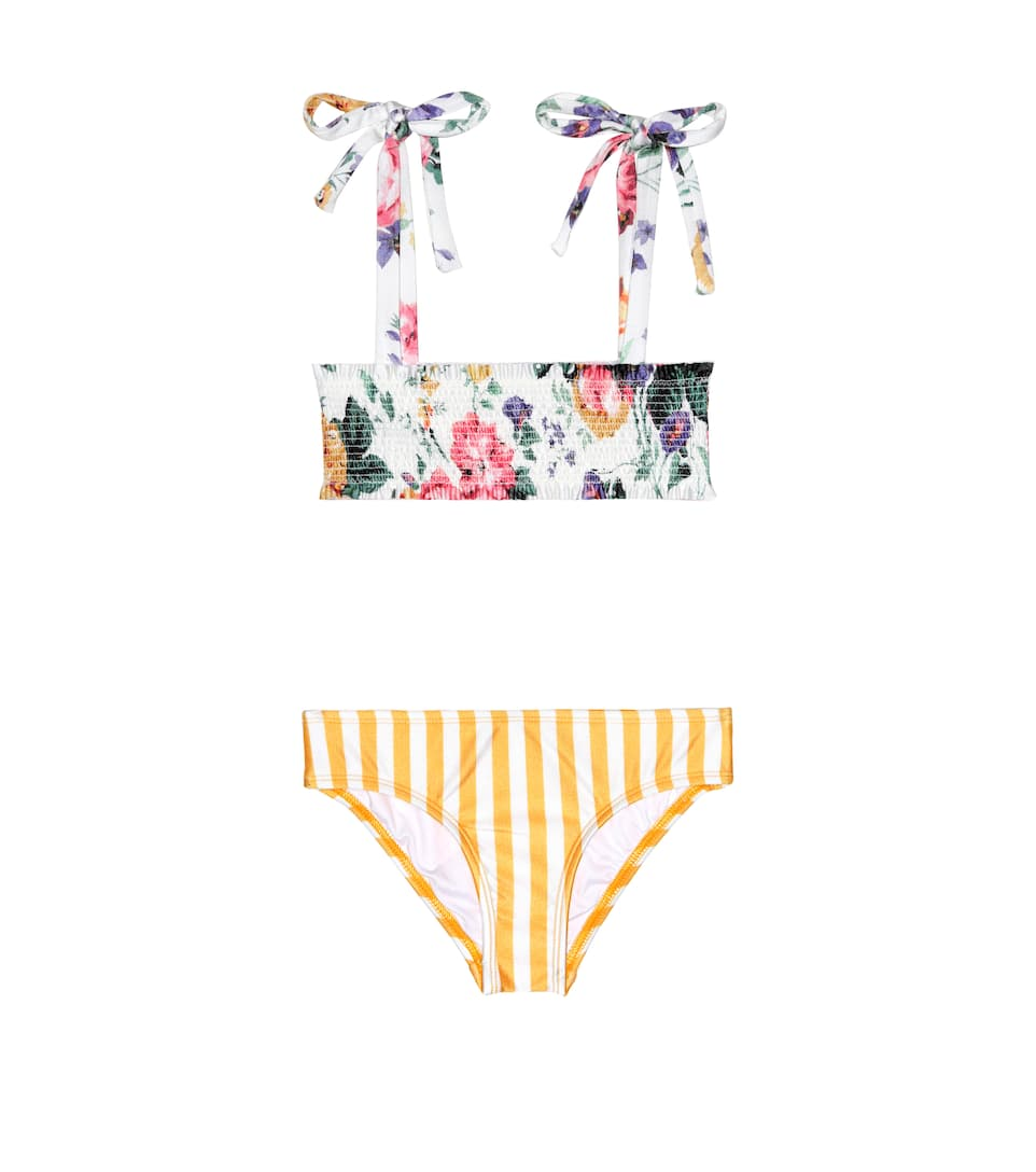 249800e66a826 Allia Printed Bikini - Zimmermann Kids | mytheresa.com