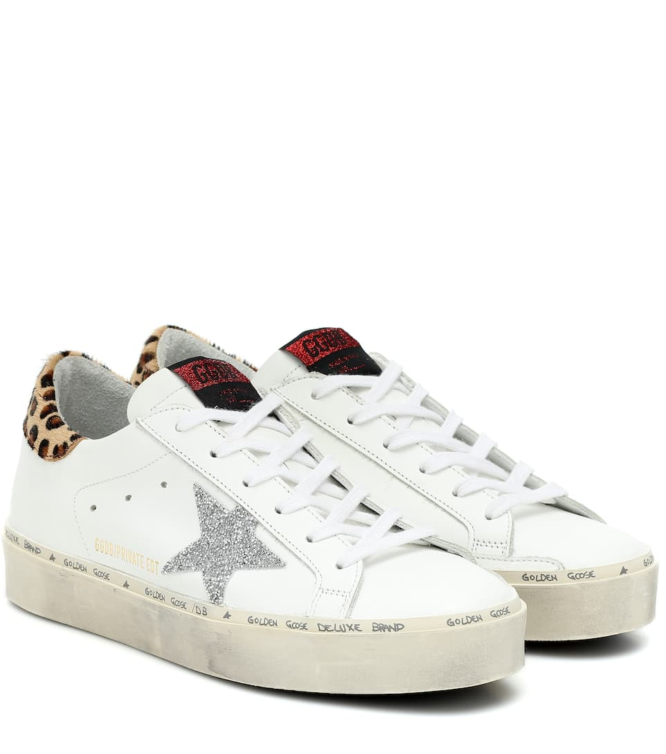Leather Sneakers | Golden Goose - Mytheresa