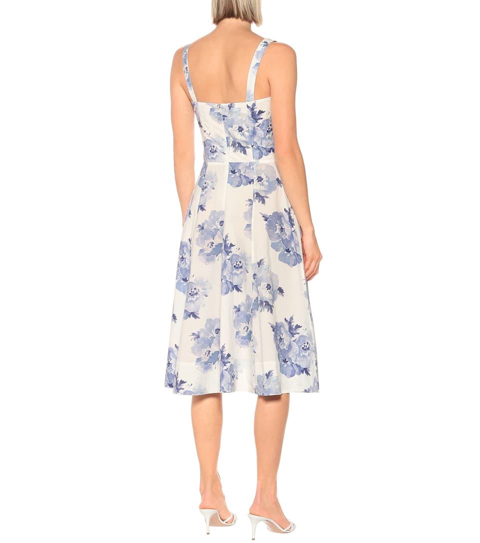 Polo Ralph Lauren Exclusivité – Robe Midi Imprimée En Coton
