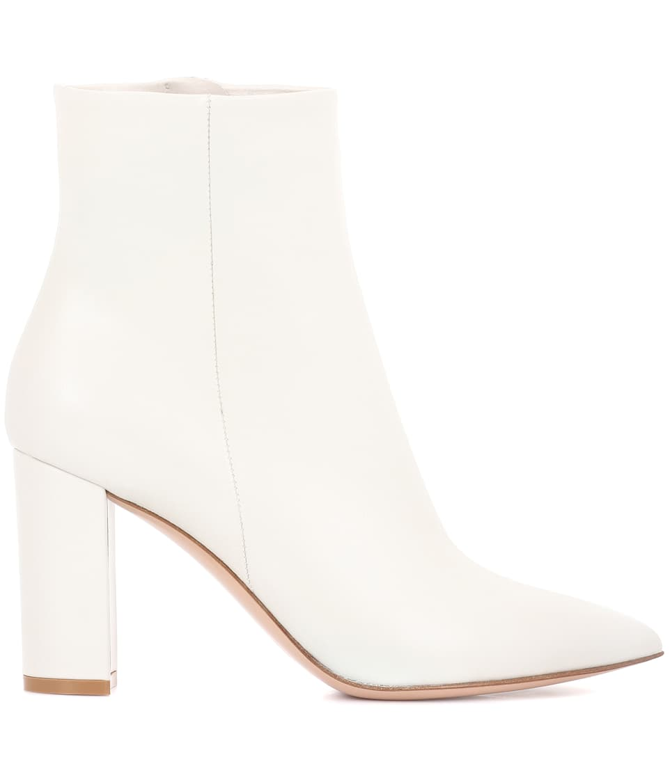 Gianvito Rossi Ankle Boots Piper 85 From Lede