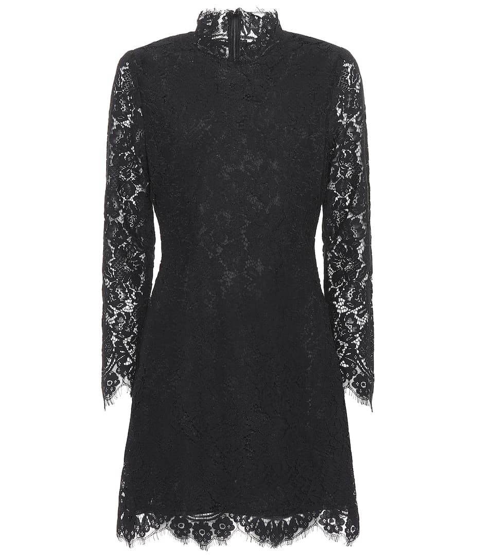 Jerome Lace Dress, Black