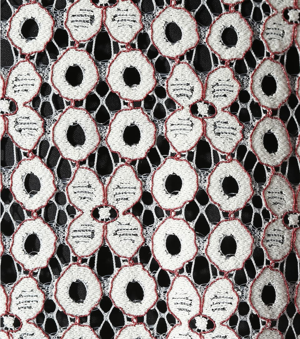 combien Dorothee Schumacher - Robe en coton et dentelle brodée Coût Des Prix Pas Cher Magasin De Jeu Pas Cher En Ligne Date De Sortie De Vente JsWaJpAV
