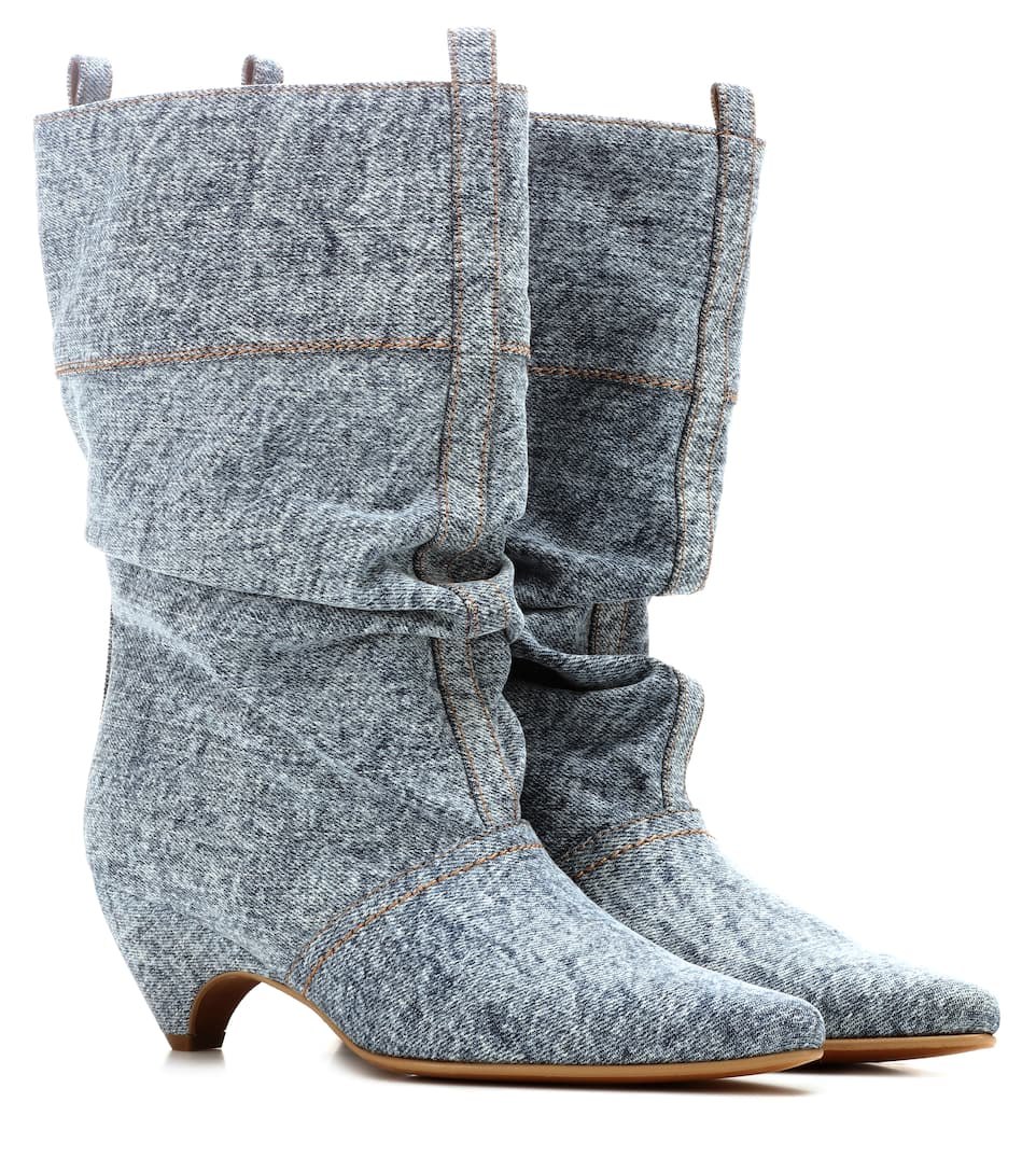 Stella McCartney denim boots