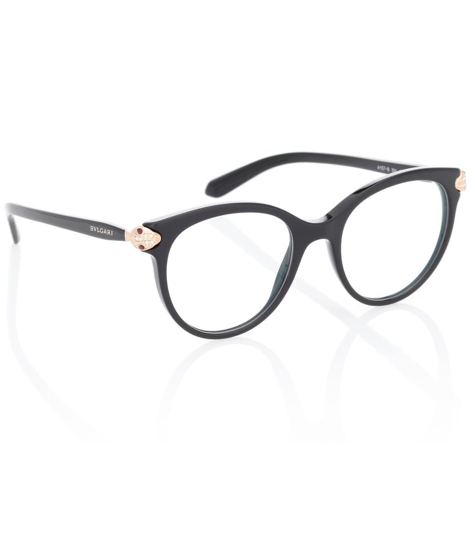 9b728eed509 Serpenti Round Glasses - BVLGARI EYEWEAR