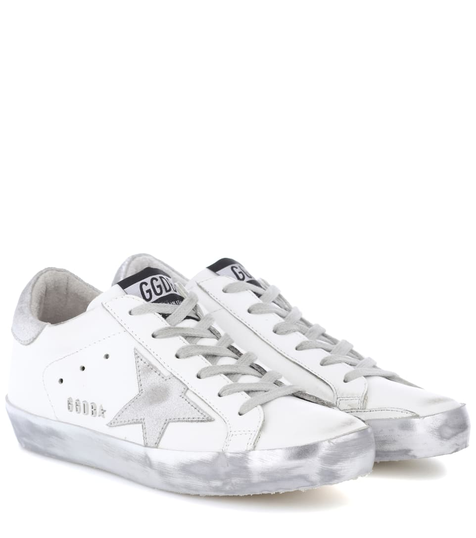 Sneakers Superstar In Pelle by Golden Goose Deluxe Brand
