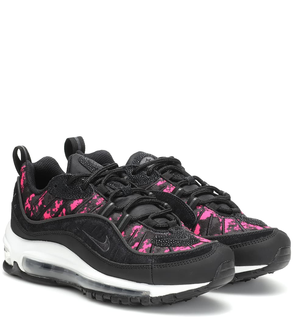sale retailer 51f4e d292c Shoptagr | Air Max 98 Premium Sneakers by Nike