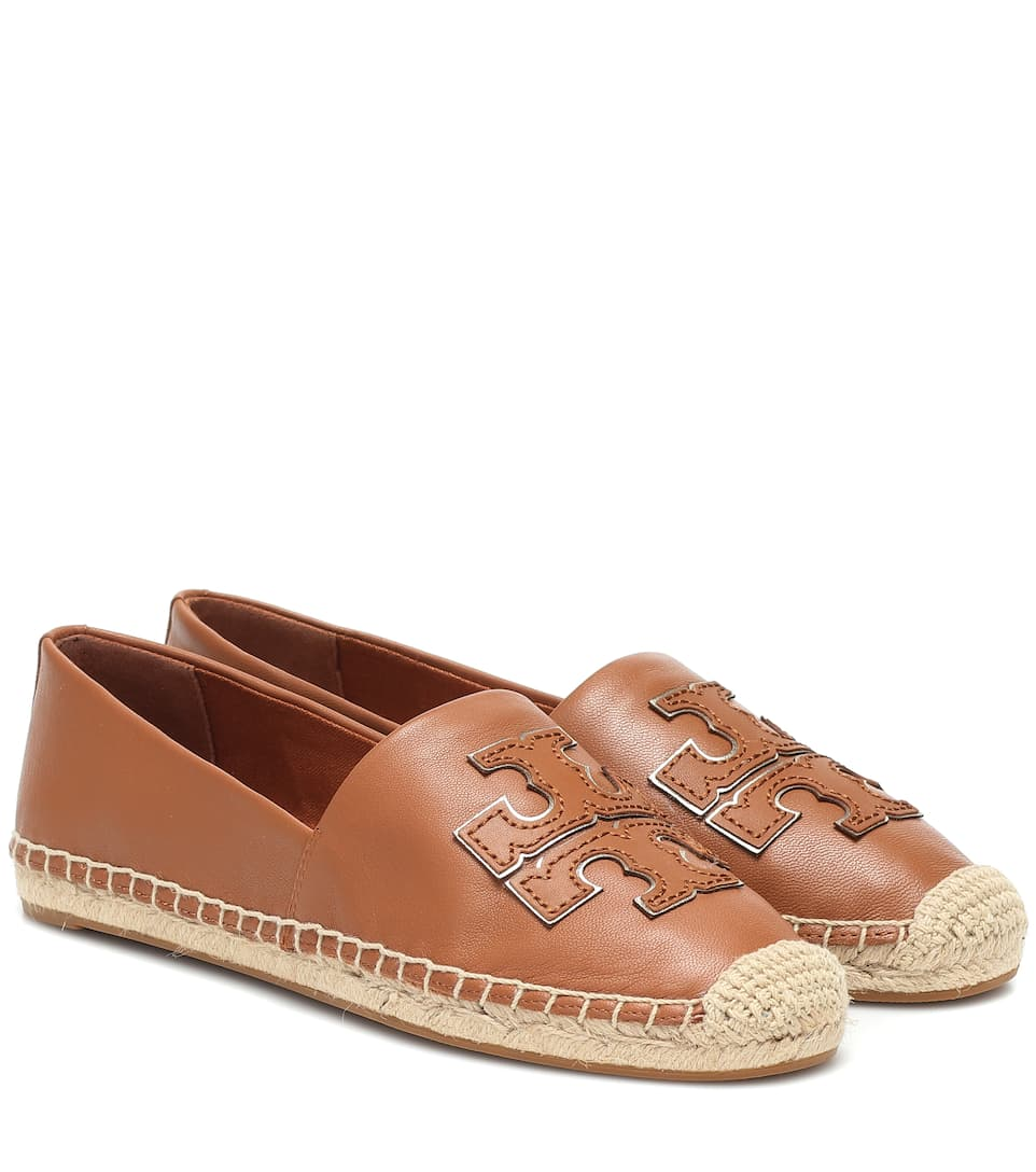 Leather Espadrilles - Tory Burch