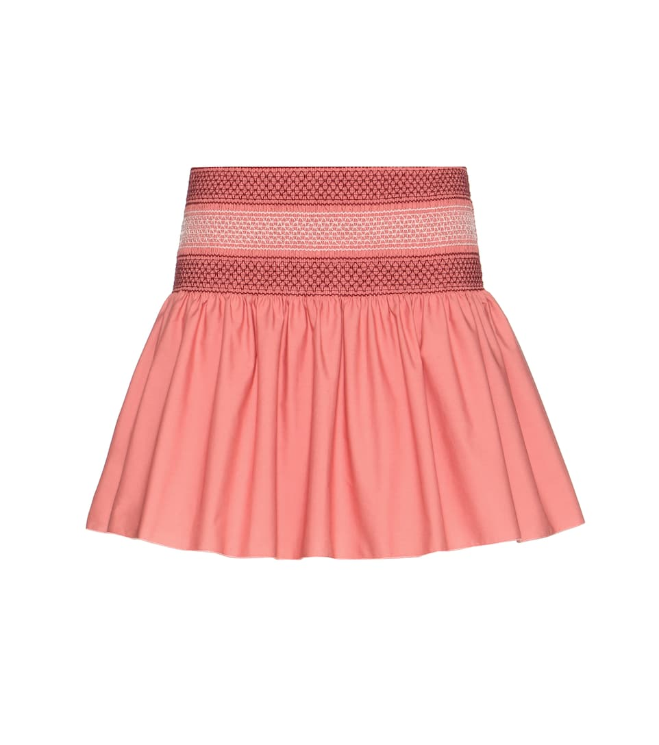 See By Chloé Smocked skirt