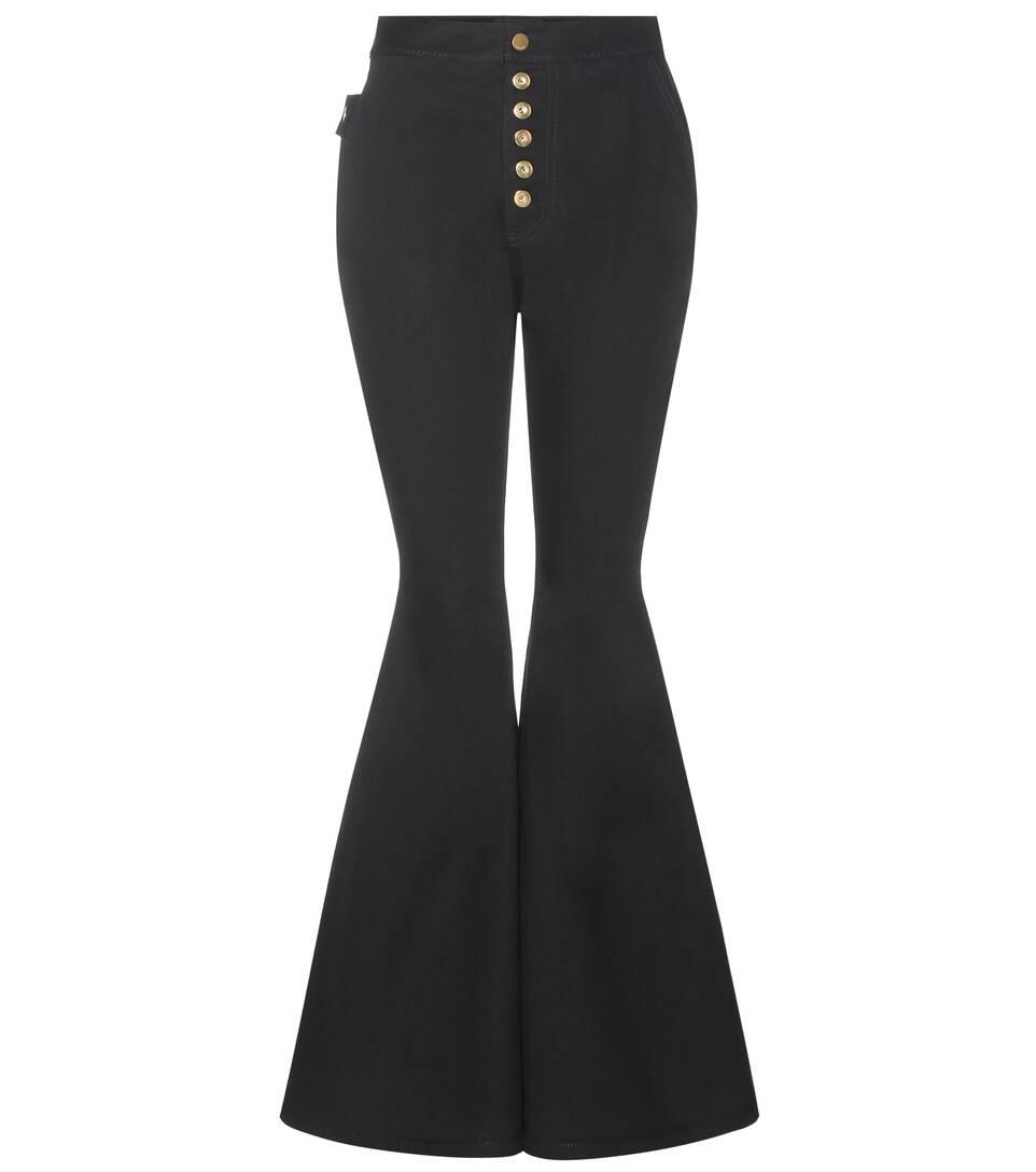 Ellery Ophelia wide-leg flare jeans