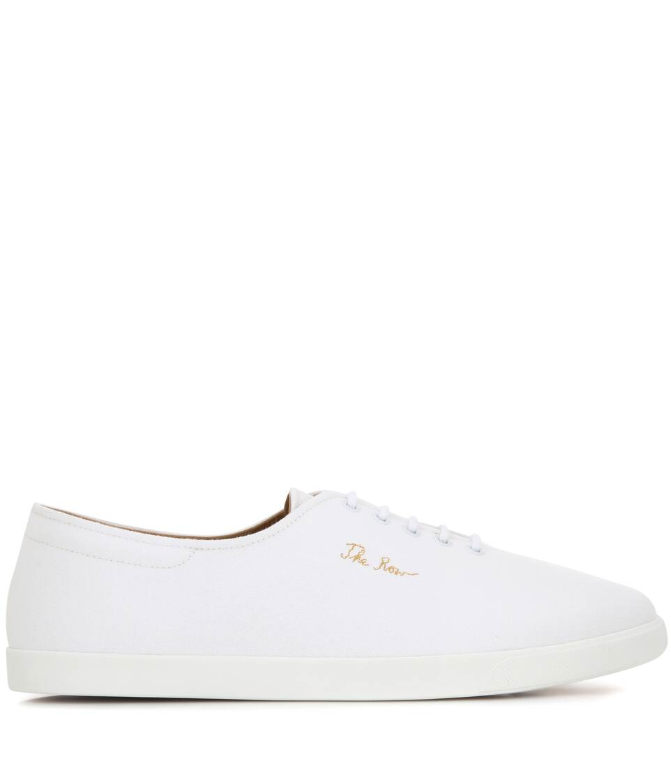 The Row Sneakers Dean aus Canvas