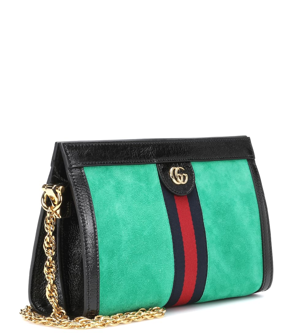 d051421686 Borsa Ophidia In Suede - Gucci | mytheresa