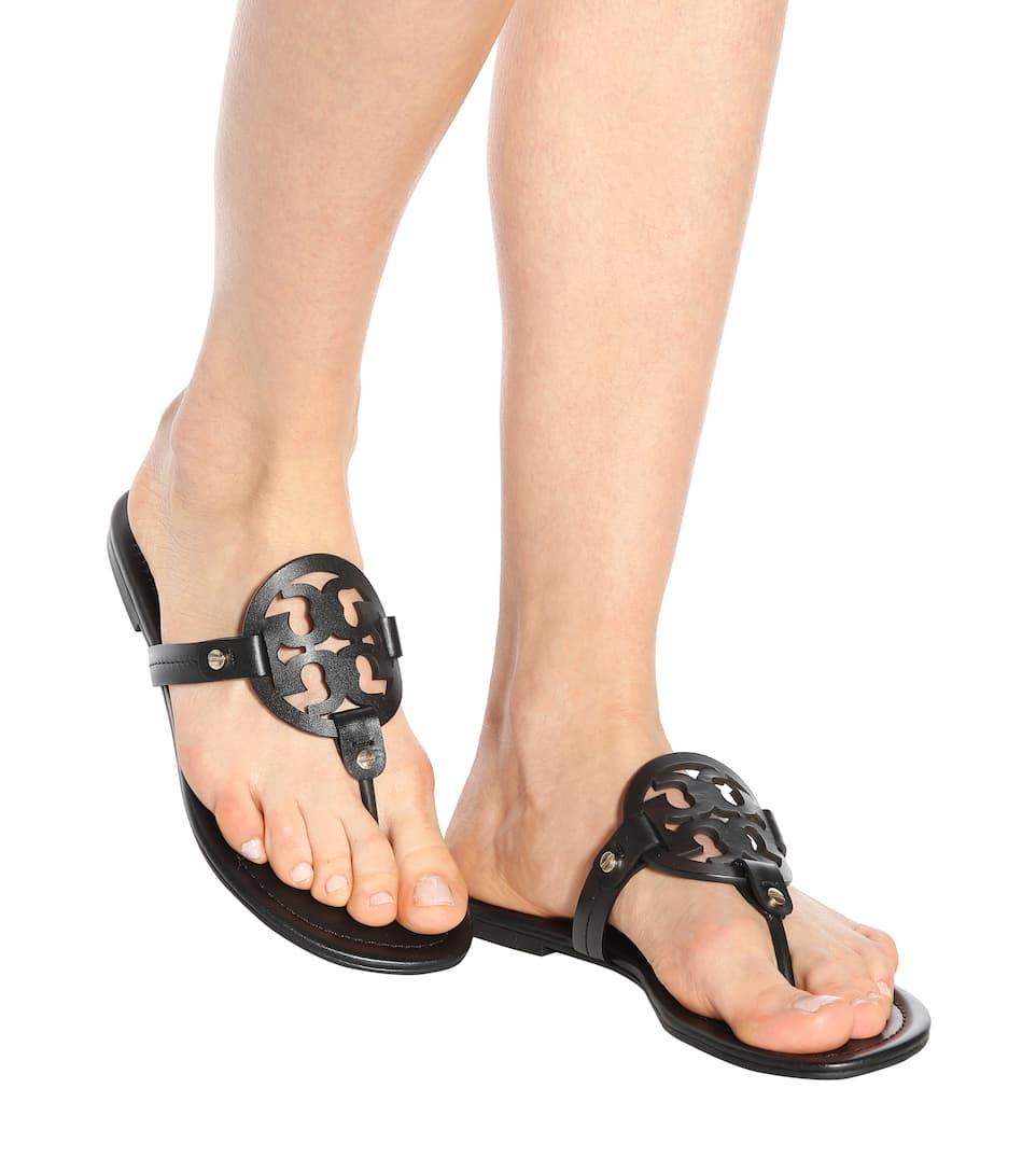b371ebc92d8 Miller Leather Sandals - Tory Burch