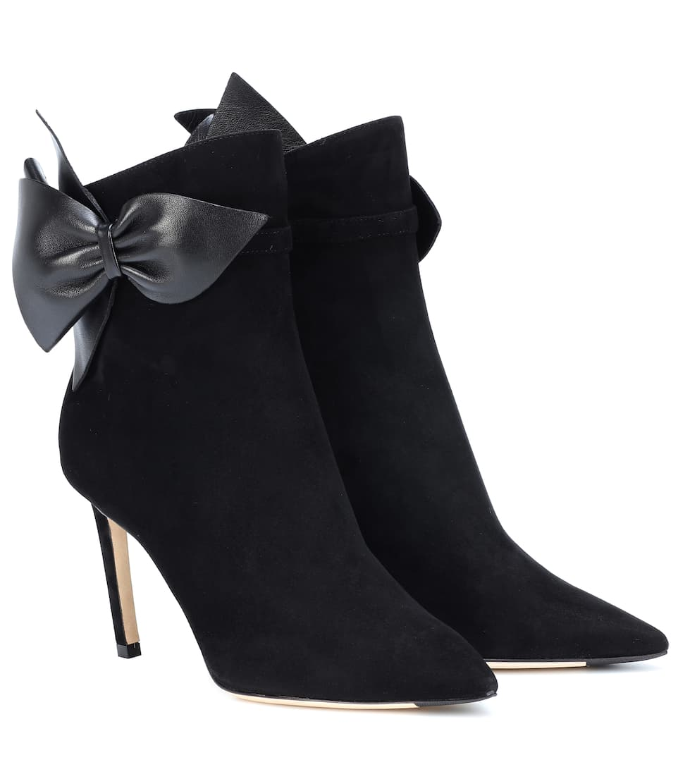 Kassidy 85 Suede Ankle Boots by Jimmy Choo