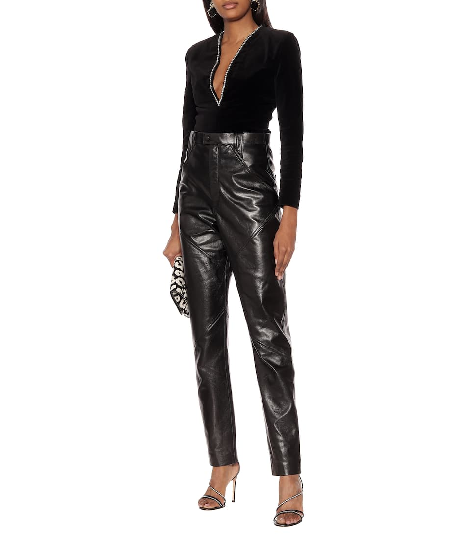 Isabel Marant - Xenia high-rise leather pants