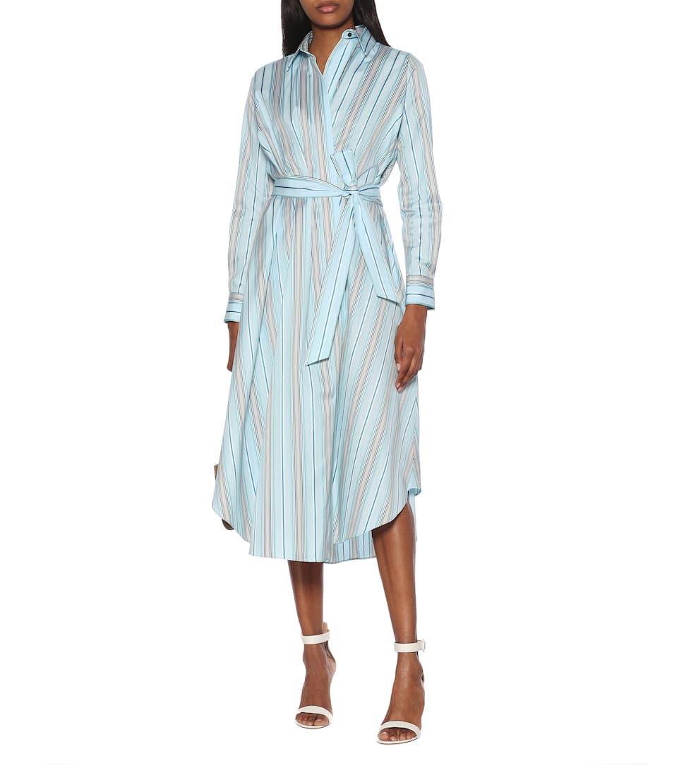 Loro Piana - Caelie striped cotton dress