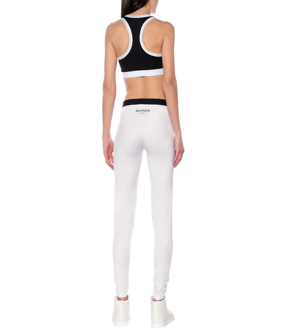Balmain - Jersey leggings