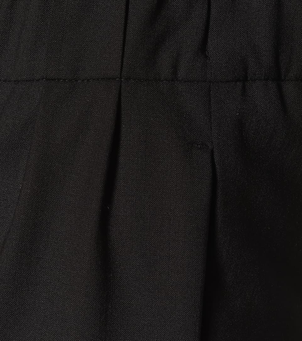 High-Rise Wool-Blend Slim Pants - Brunello Cucinelli