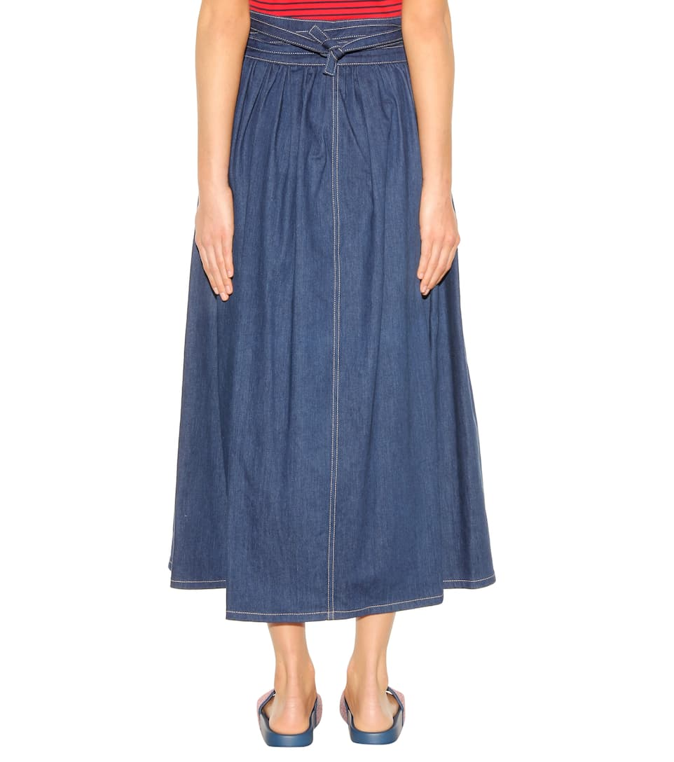 Lastest Women S Skirts Marc Jacobs Blue Denim Skirt  237