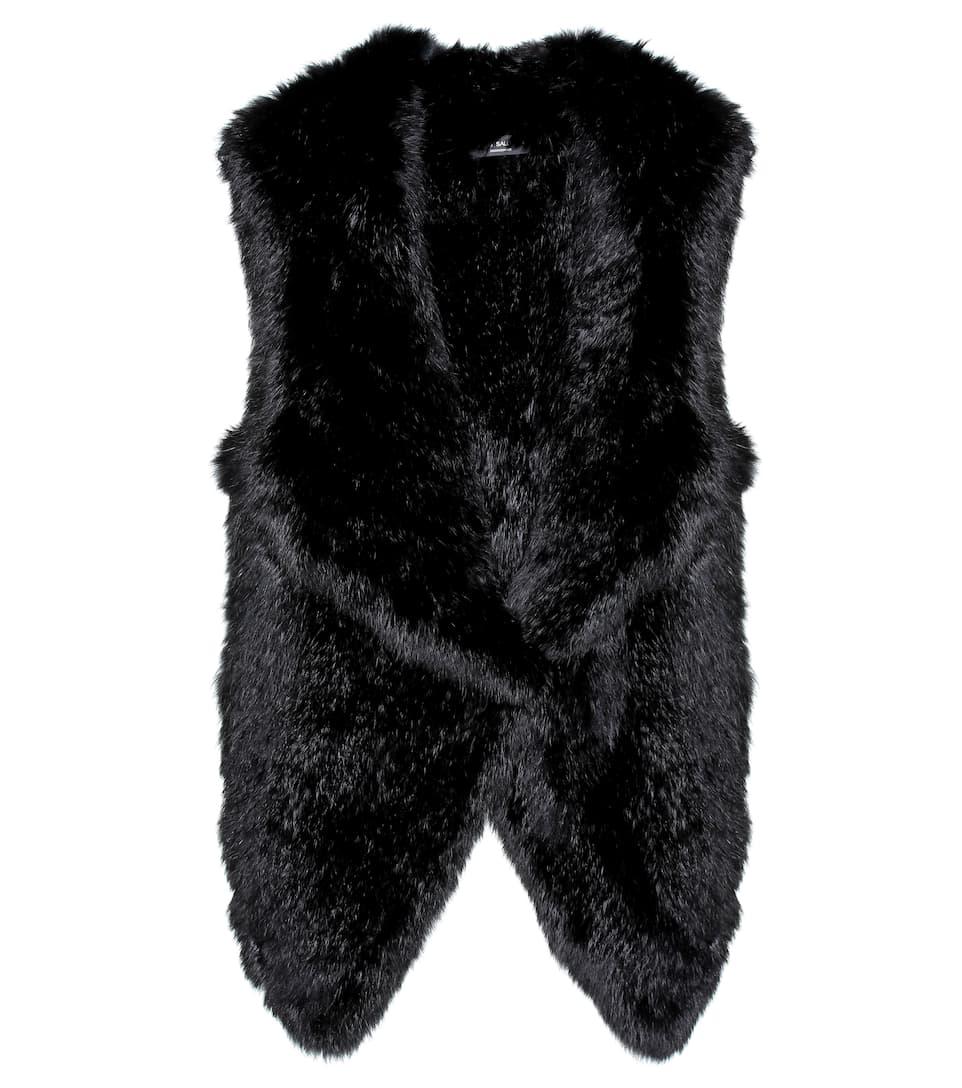 Sneakernews Günstiger Preis Yves Salomon - Meteo Weste aus Pelz Rote Vorbestellung Eastbay 100% Authentisch Billig Verkaufen Mode EzXlVpn