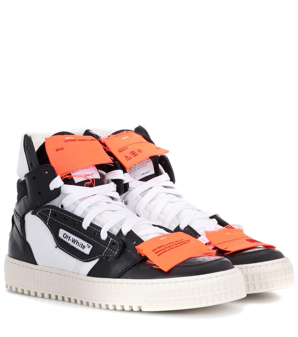 Off-White Exklusiv bei mytheresa.com – Sneakers aus Leder