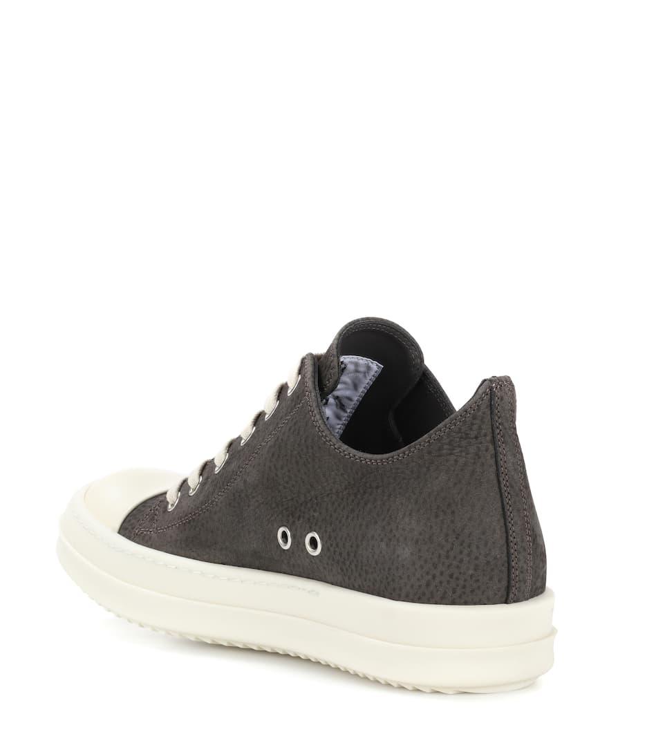 Brandneue Unisex Günstig Online Heißen Verkauf Günstiger Preis Rick Owens Sneakers aus Leder luqPFi5