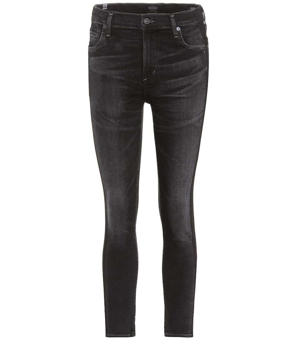 Citizens of Humanity Skinny Jeans Rocket Cropped