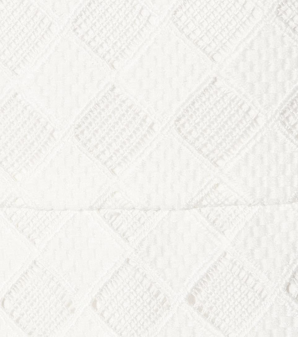 Rebecca Vallance Asymmetrisches Midikleid mit Volants