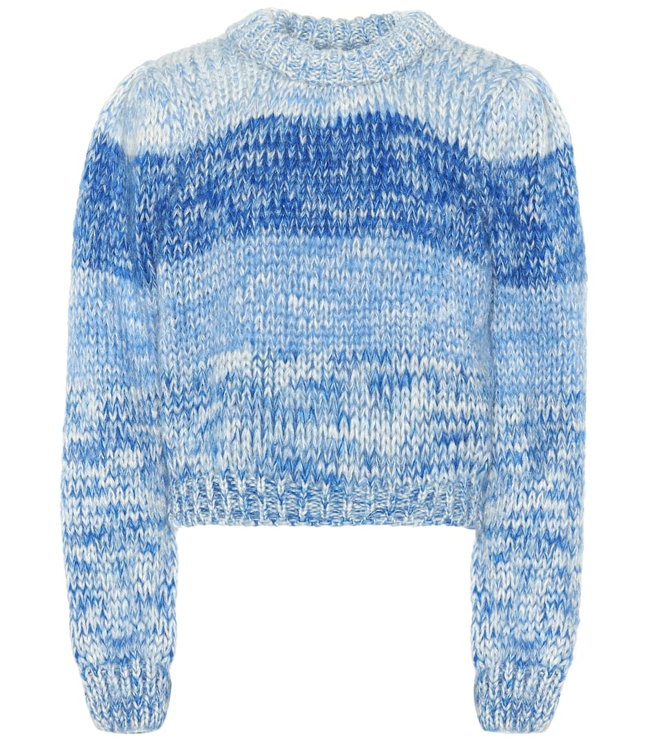04a12b0428077 Wool And Mohair Sweater - Ganni