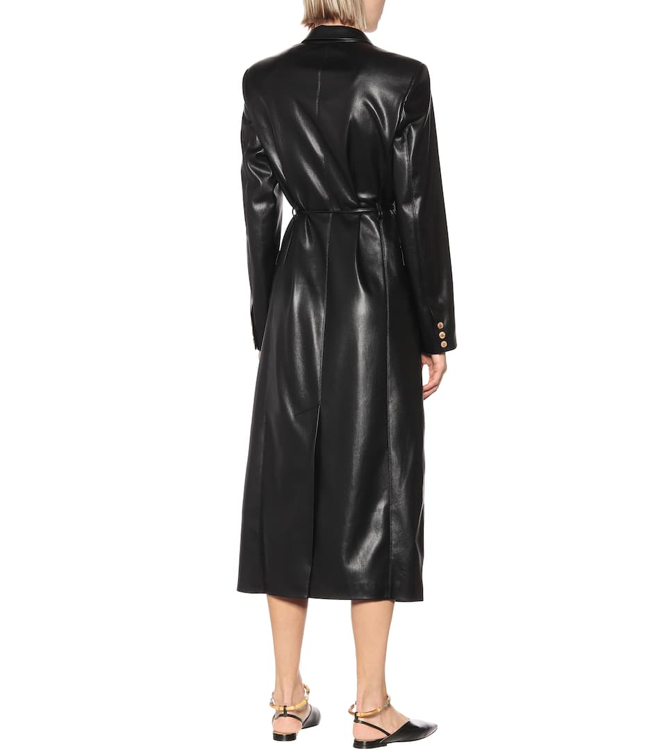 Nanushka - Manila faux-leather coat