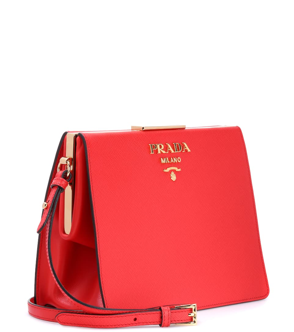 Prada Exclusively At Mytheresa.com - Shoulder Bag Made Of Leather
