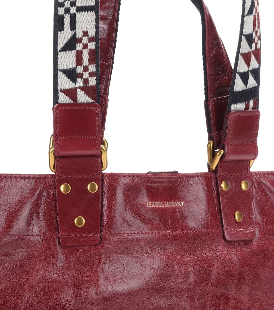 Isabel Marant Shopper Bagya aus Leder