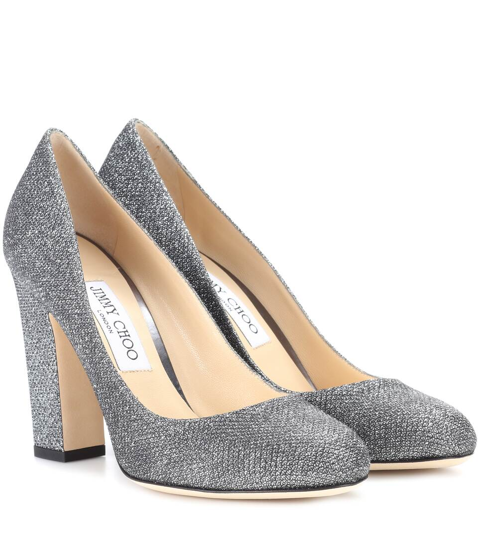 Escarpins métallisés à paillettes Billie 100Jimmy Choo London vGnAz9rhC