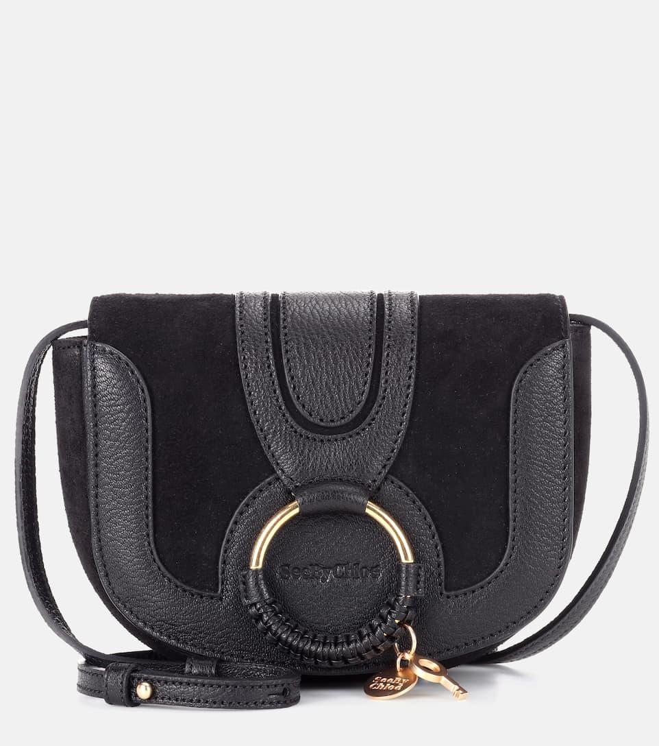 7d78e1a3 Hana Mini leather shoulder bag