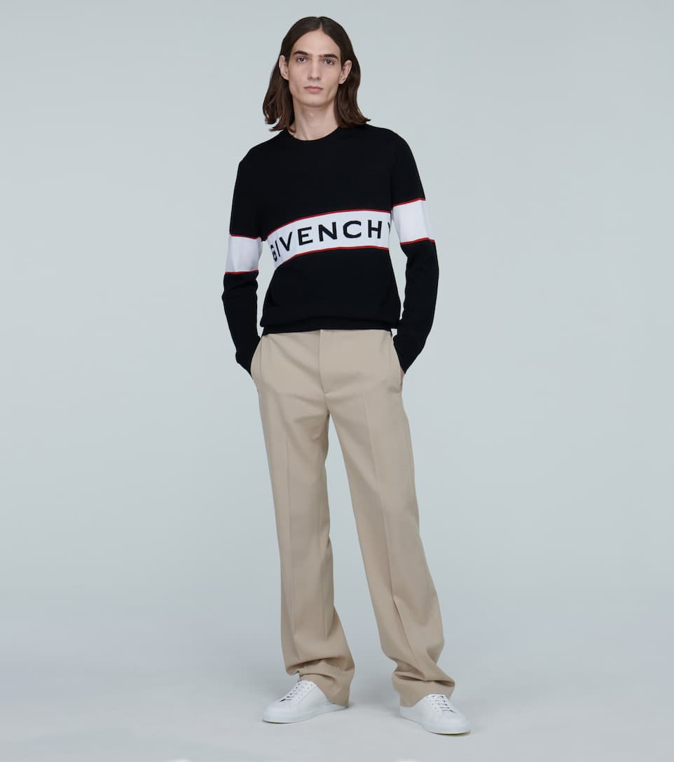 Knitted Wool Sweater With Logo - Givenchy | Mytheresa NqnooqIT