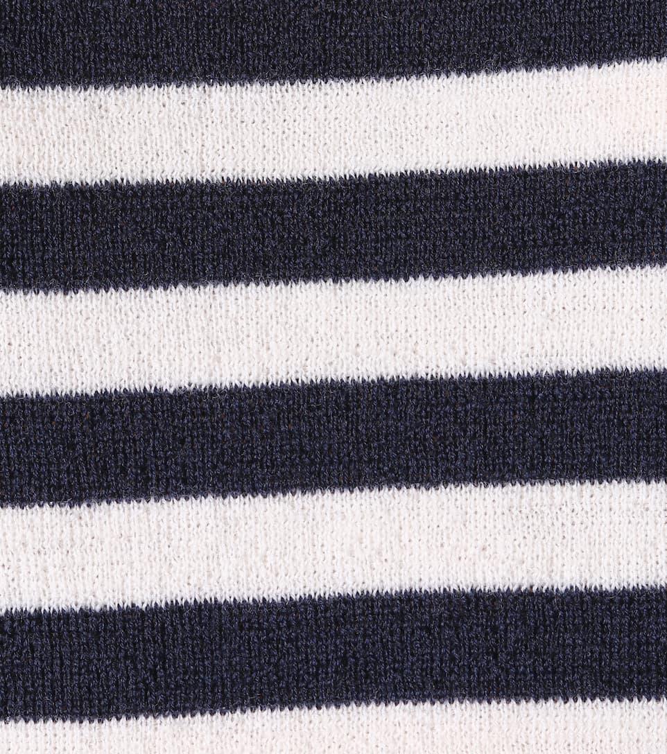 M.i.h Jeans Gestreifter Pullover aus Merinowolle
