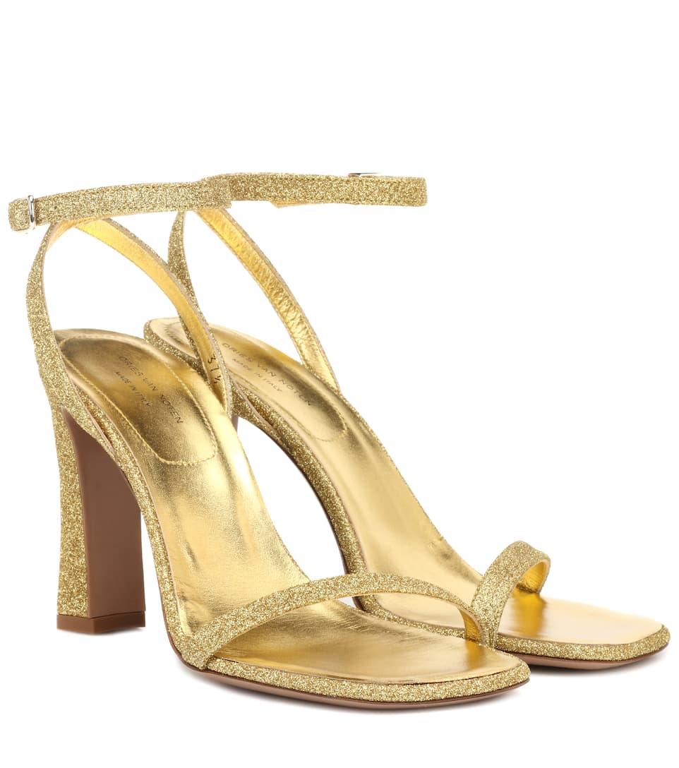 Strap Sandals Ankle Sandals Strap Glitter Ankle Glitter 8PXnk0wO