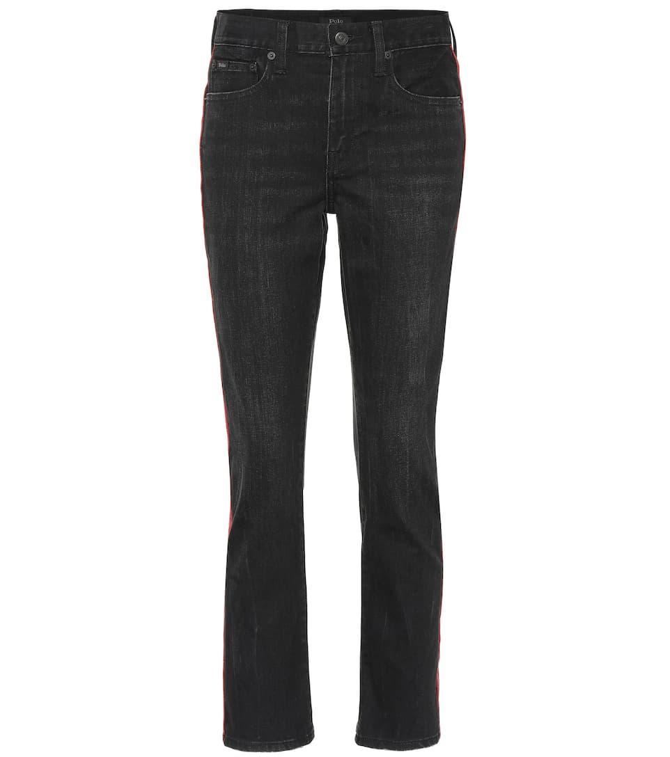 c07be98d3a4f7 Polo Ralph Lauren - Waverly high-rise slim jeans | Mytheresa