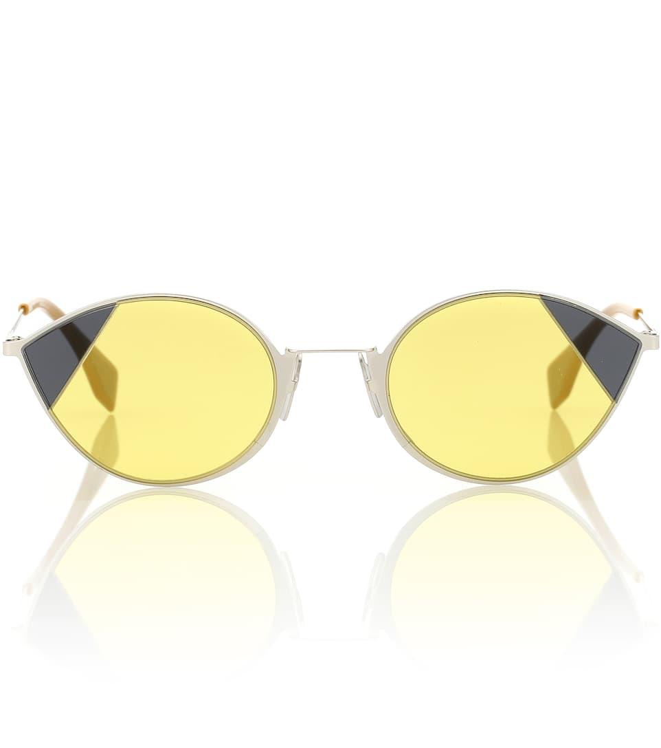26b1f73b61ca1 Fendi - Cut-Eye sunglasses