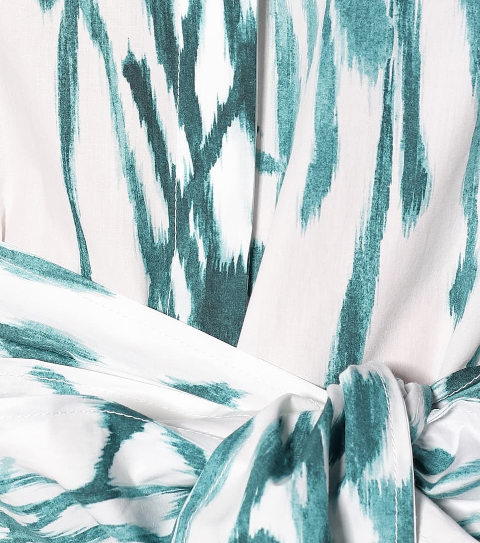 Printed Cotton-Poplin Shirt Dress | Salvatore Ferragamo - Mytheresa