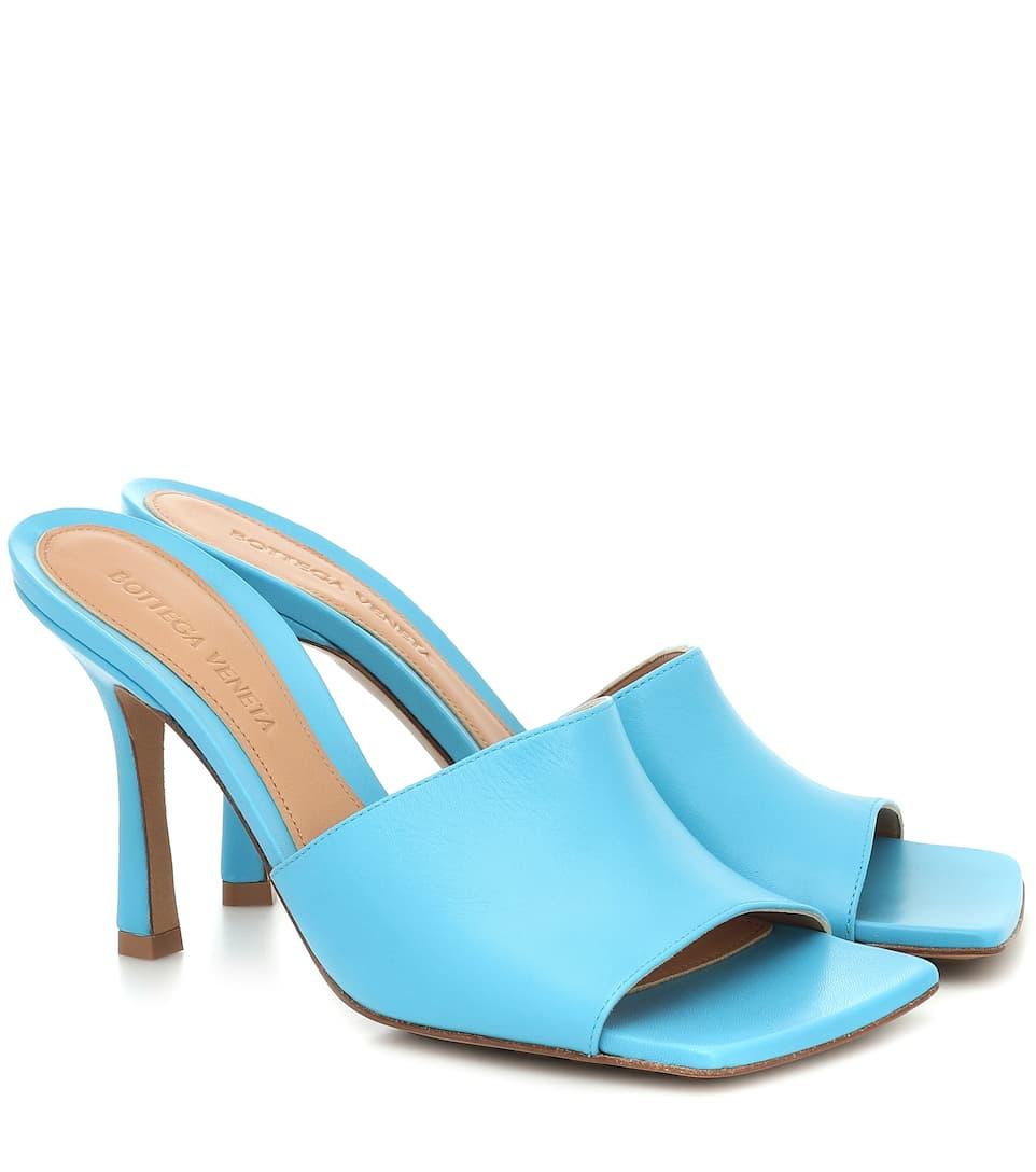 STRETCH SANDALS by Bottega Veneta, available on bottegaveneta.com for $830 Yovanna Ventura Shoes Exact Product