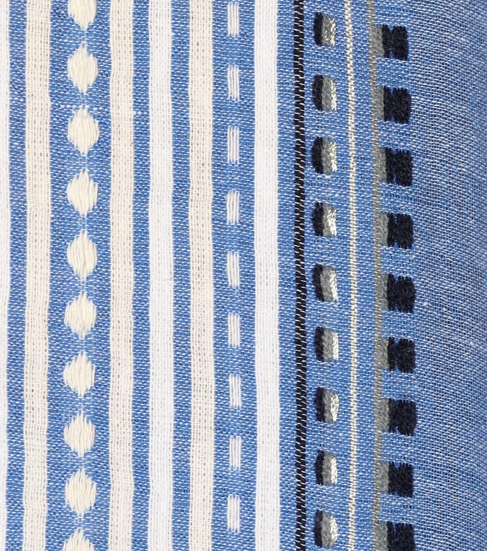 Lemlem Off-Shoulder-Top Izara aus einem Baumwollgemisch
