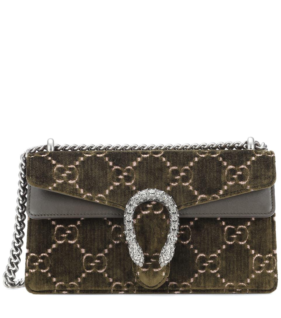 c725d12b2c04f4 Gucci Dionysus Gg Velvet Shoulder Bag | Stanford Center for ...