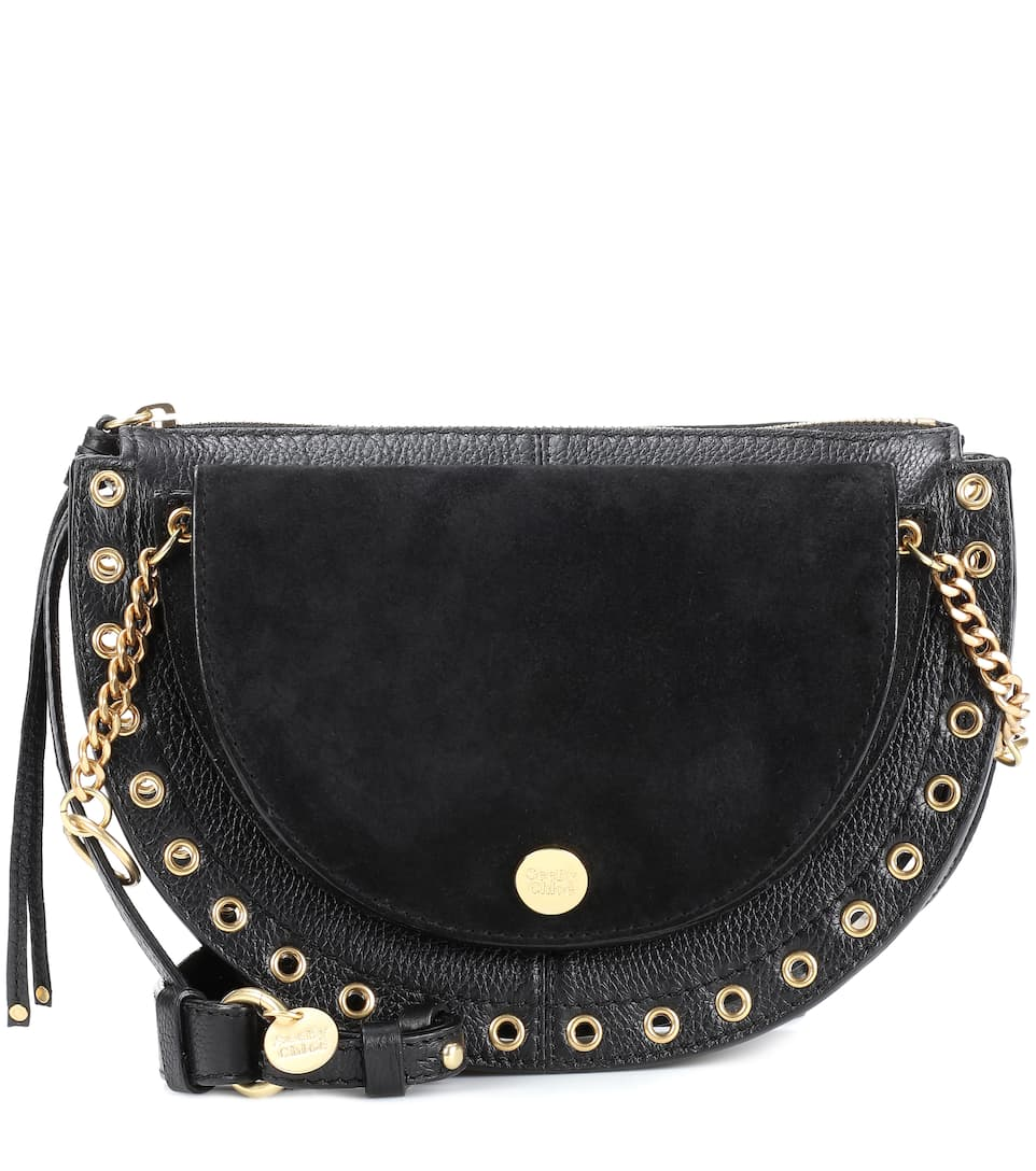 Kriss Medium Leather Crossbody Bag by See By Chloé