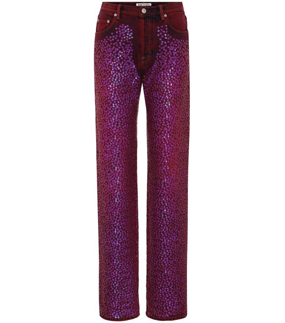 Myrja high-waisted jeans Acne Studios 10Mmn