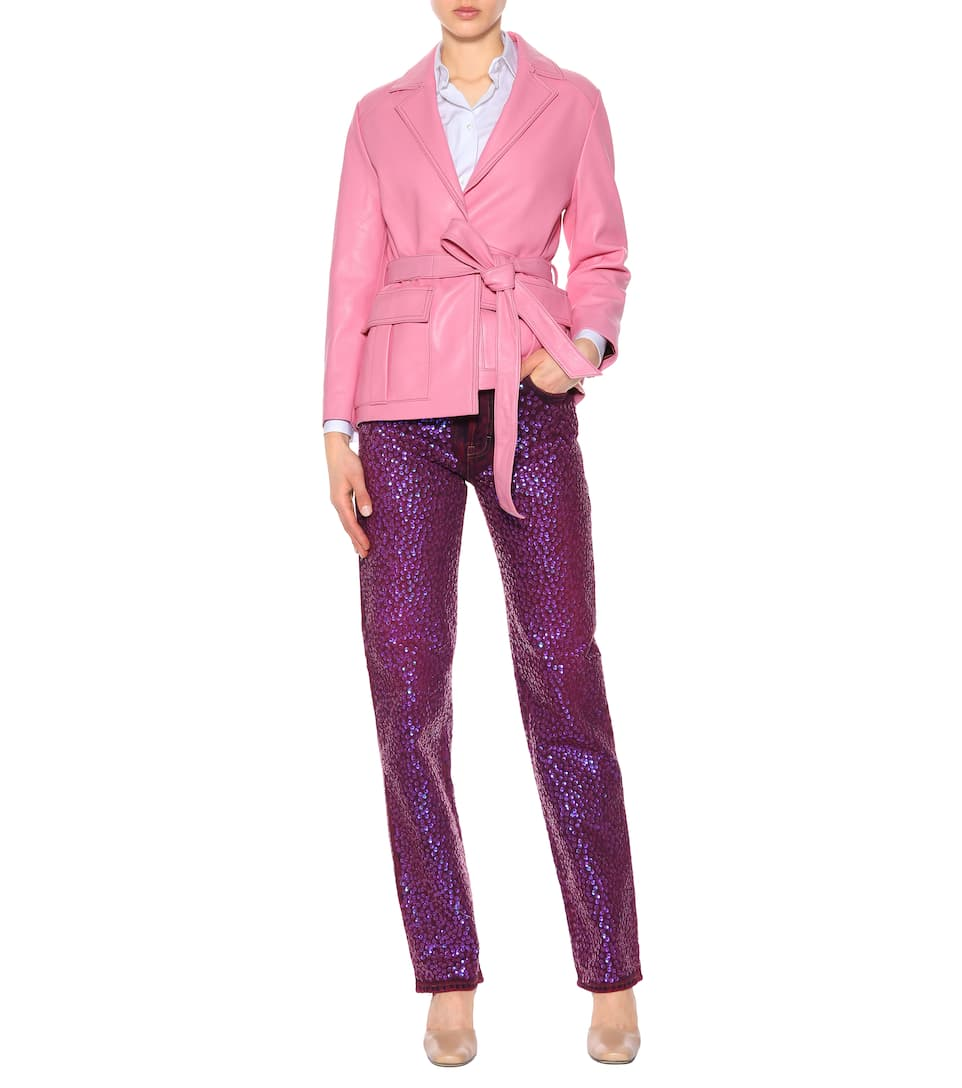 Tisi high-waisted sequinned jeans Acne Studios 1WvCOSWYV