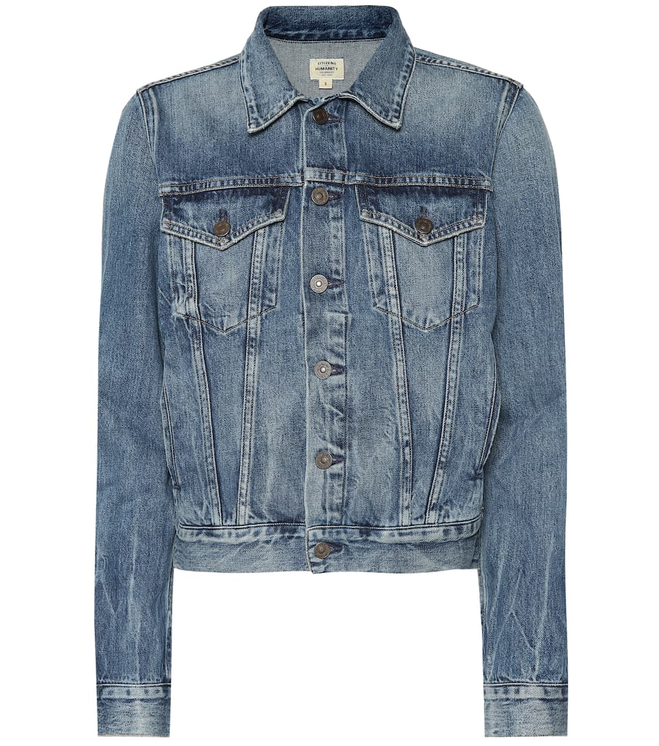 Of En Veste Mytheresa Citizens Humanity Nica Denim 8F7fq4