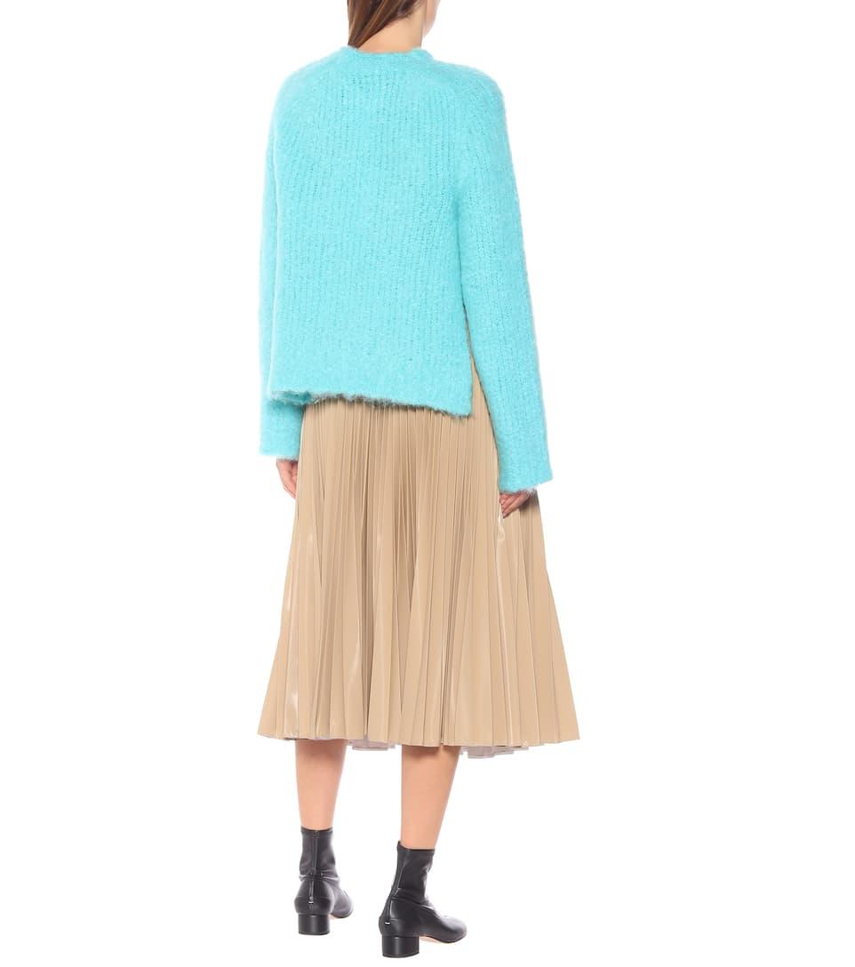 Pullover In Lana E Mohair
