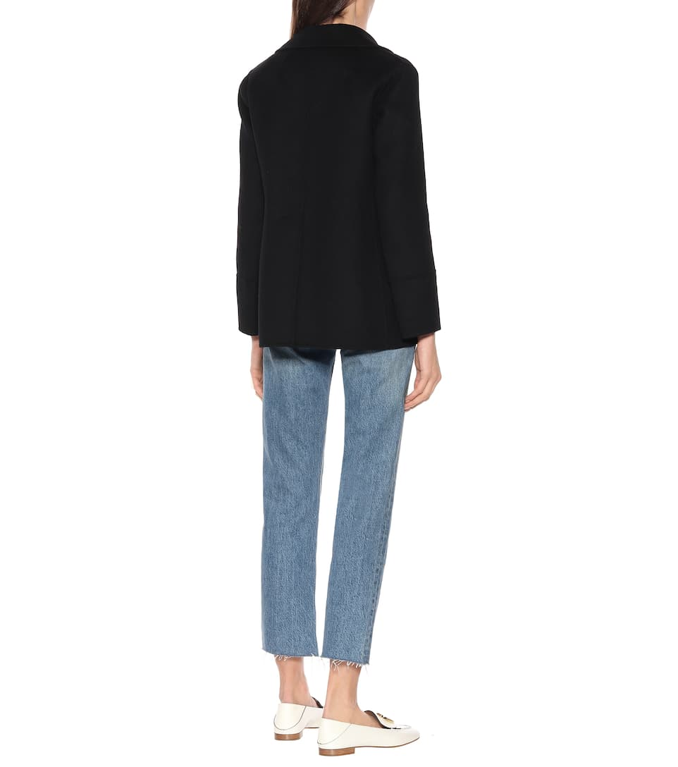 S Max Mara - Dea wool and angora blazer